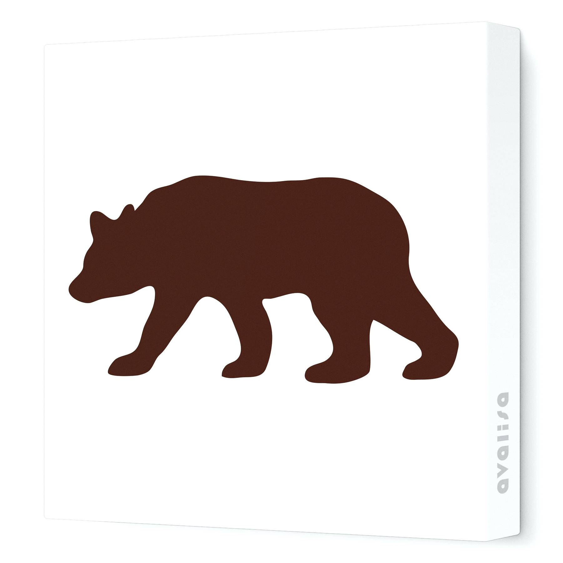 Wall Arts ~ Teddy Bear Wall Art Bear Wood Sign Wall Art Black Bear With Regard To Most Recent Bear Metal Wall Art (View 18 of 20)