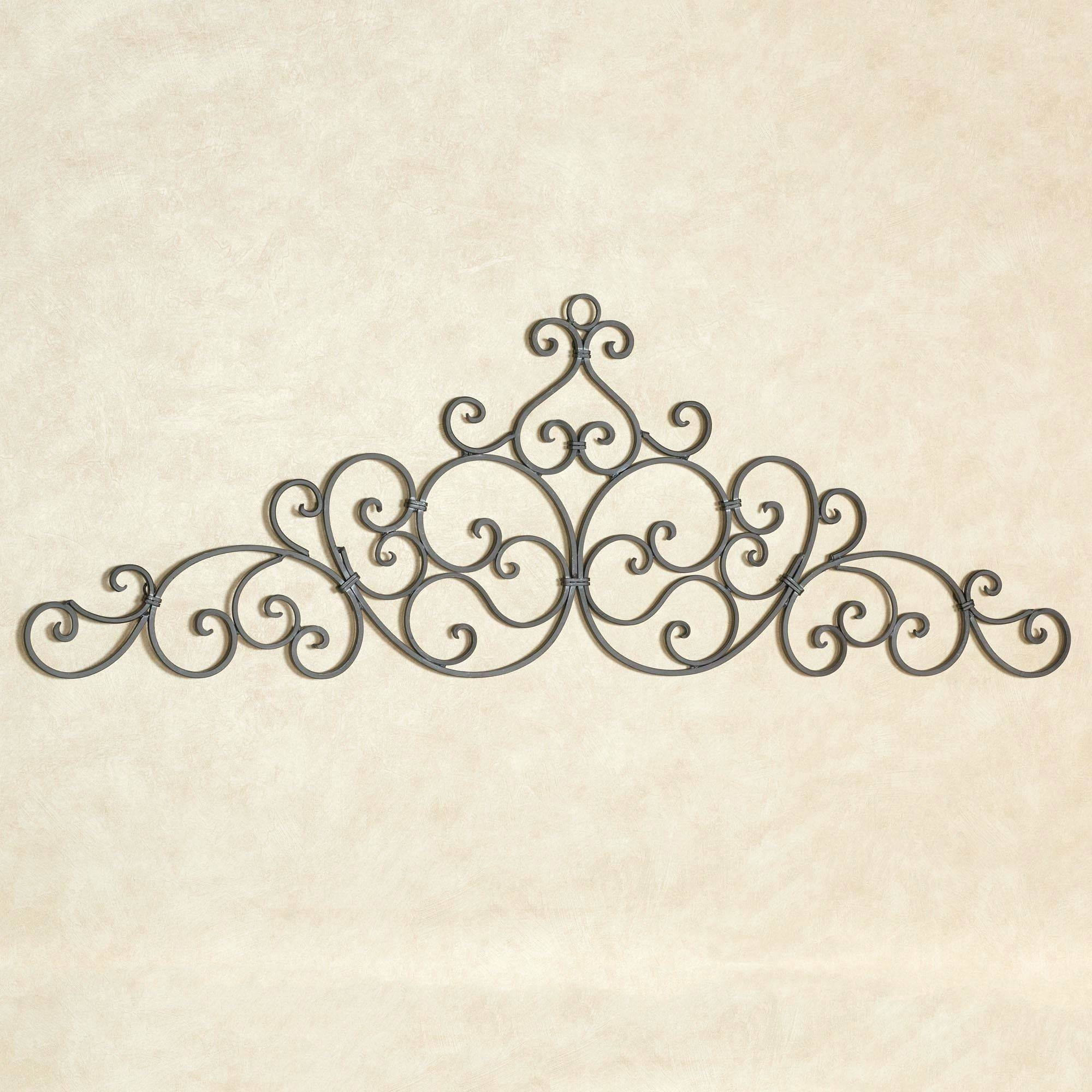 Wall Arts ~ Terrific Kirklands Metal Scroll Wall Art Metal Wall In Current Pottery Barn Metal Wall Art (View 13 of 20)