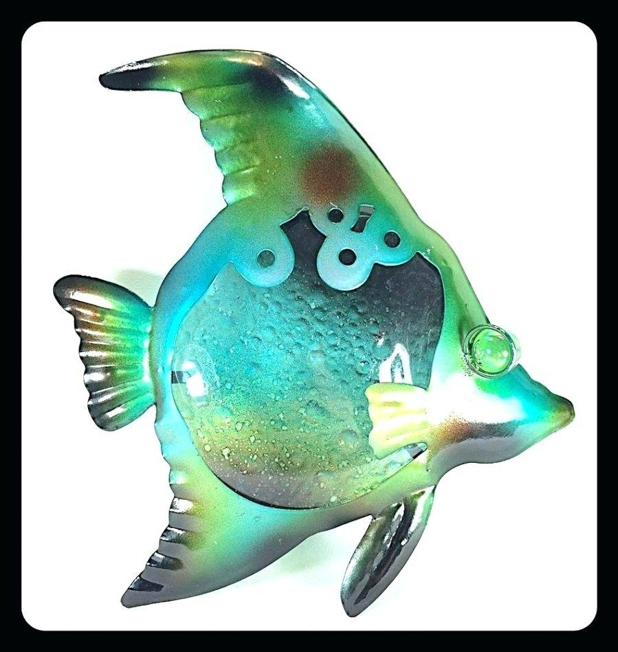 Wall Arts ~ Tropical Fish Metal Art Tropical Fish Metal Wall Art For Most Current New Zealand Metal Wall Art (View 9 of 20)