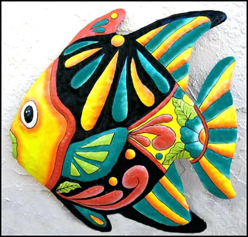 Wall Arts ~ Tropical Fish Metal Art Tropical Fish Wall Art Metal For Recent Tropical Fish Metal Wall Art (View 17 of 20)