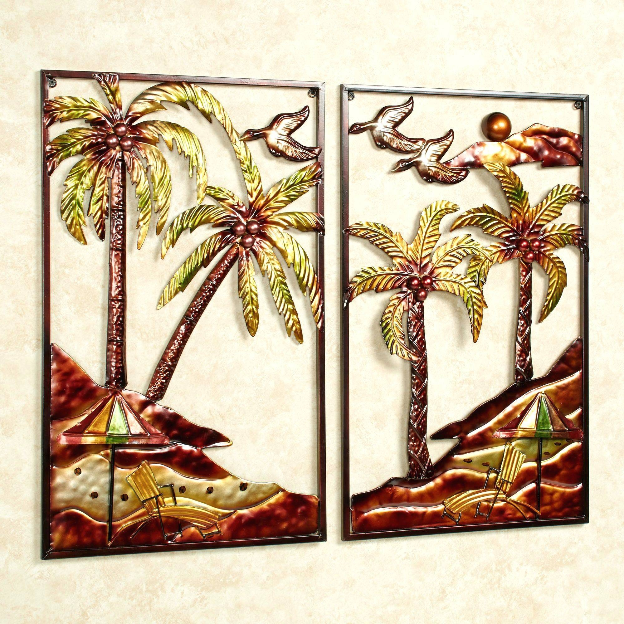 Wall Arts ~ Tropical Wall Art Prints Tropical Flower Metal Wall Within Most Recently Released Tropical Metal Wall Art (View 5 of 20)