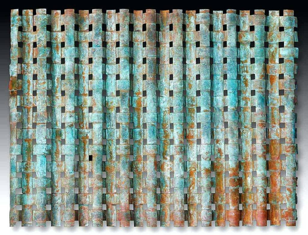 Wall Arts ~ Turquoise Bloom Metal Wall Art Turquoise Metal Wall Intended For Most Recently Released Turquoise Metal Wall Art (View 18 of 20)