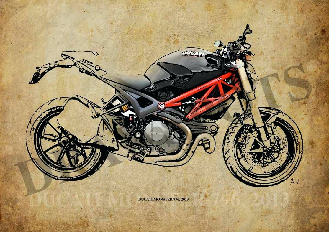 2018 Best of Motorcycle Metal Wall Art