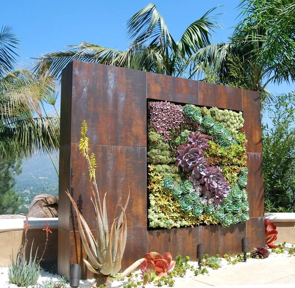 Wall Arts ~ Wall Art For Garden Rooms Fascinating Garden Wall Art With Regard To Most Recently Released Metal Wall Art For Gardens (View 18 of 20)