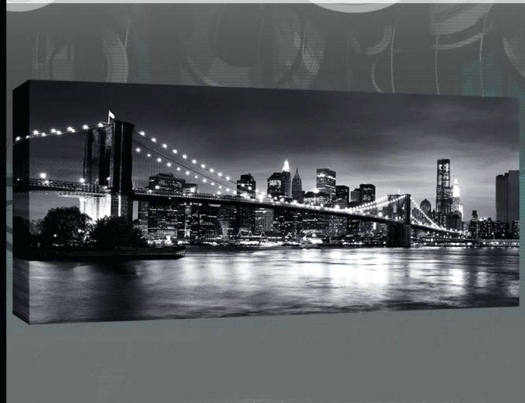 Wall Arts ~ Wall Art New York City Skyline Wonderful New York City Pertaining To Latest Metro Map Wall Art (View 19 of 20)