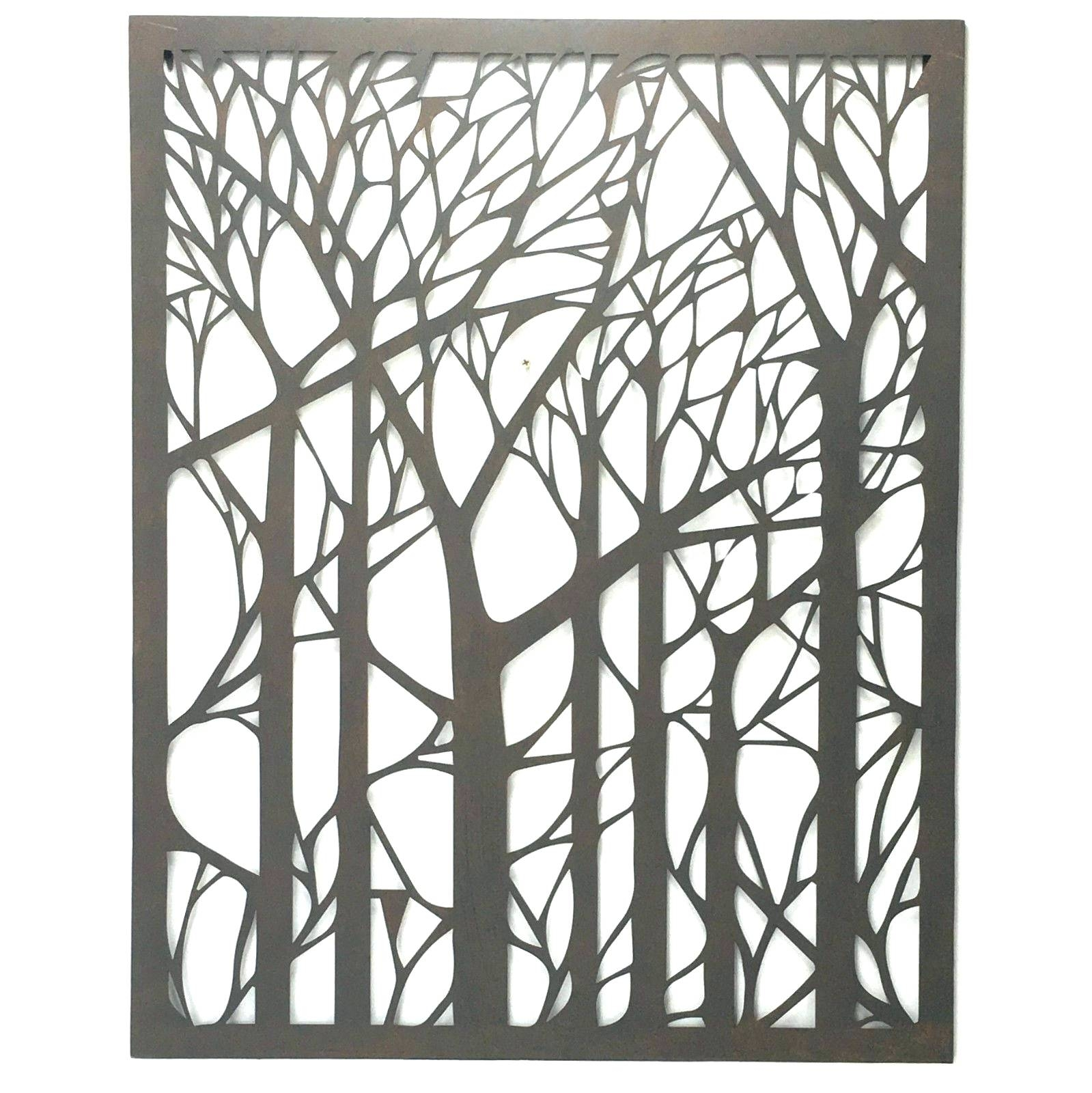 Wall Arts ~ Wall Ideas Large Outdoor Wall Art Nz Tree Metal Wall Within Most Recently Released Cool Metal Wall Art (View 1 of 20)