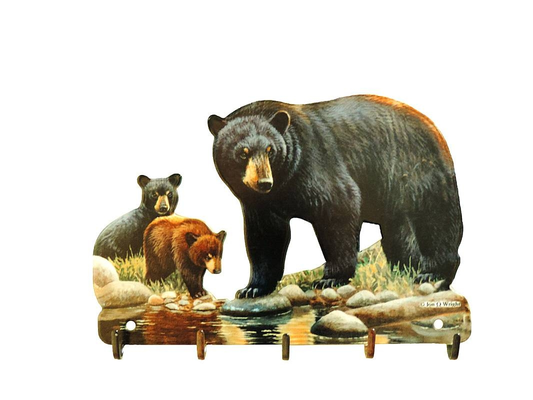 Wall Arts ~ Wildlife Metal Wall Art Bear Metal Wall Art Wildlife For 2018 Black Bear Metal Wall Art (View 17 of 20)