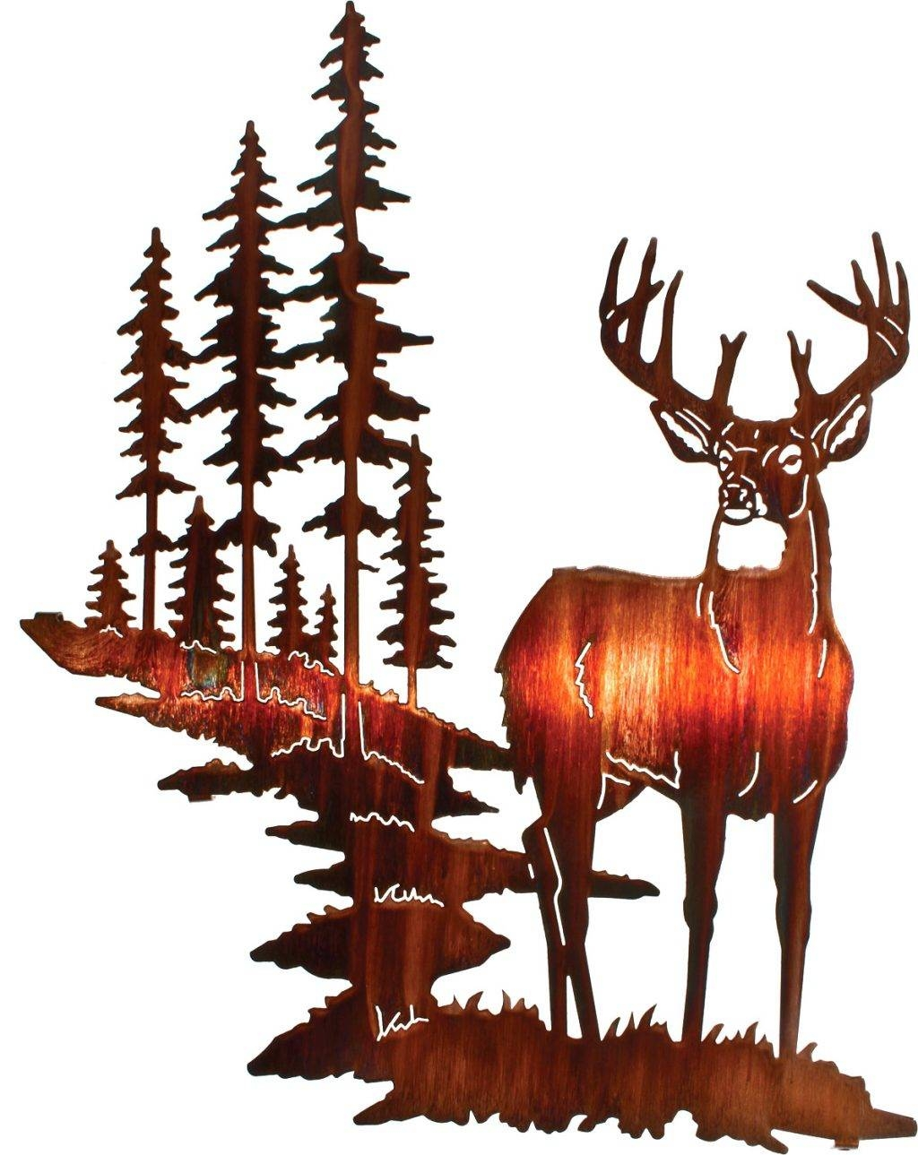 Wall Arts ~ Wildlife Metal Wall Art Wildlife Metal Wall Art Regarding Current Wildlife Metal Wall Art (View 16 of 20)