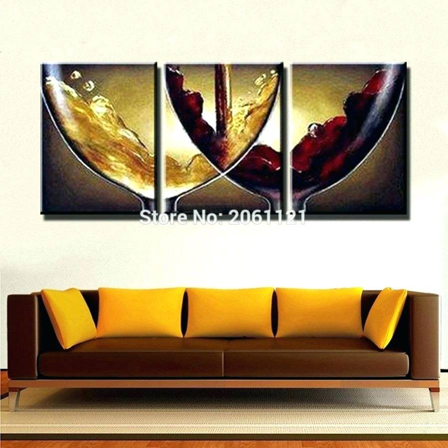Wall Arts ~ Wine Bottles Wine Bottle And Glass Metal Wall Art Throughout Best And Newest Glass And Metal Wall Art (Gallery 7 of 20)