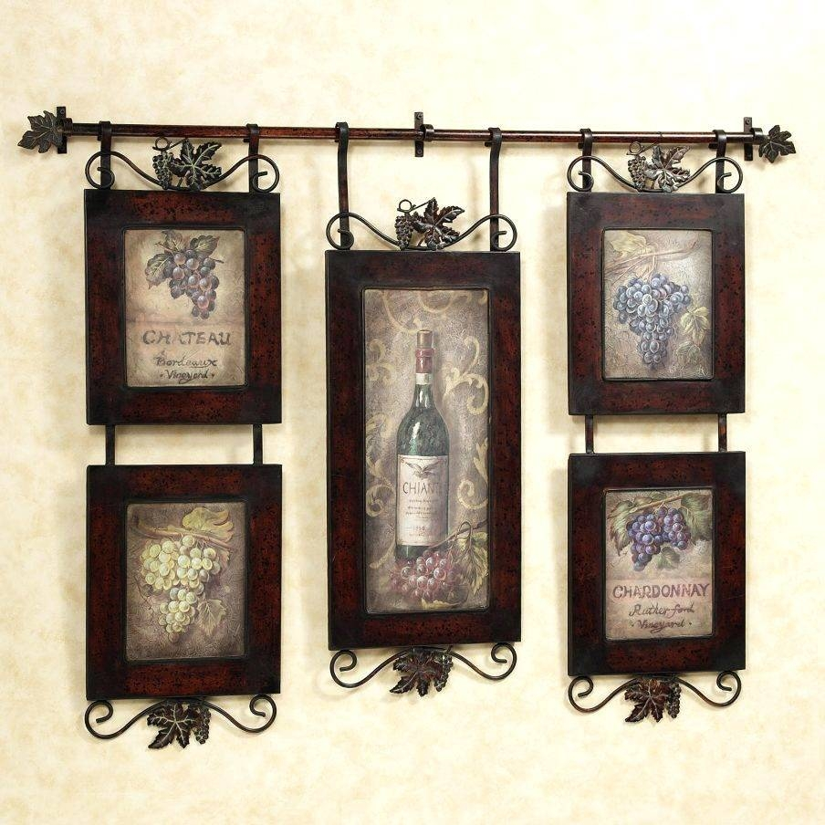 Wall Arts ~ Wine Canvas Wall Art Uk Wine Glass Canvas Wall Art Intended For Current 3 Piece Metal Wall Art (View 19 of 20)
