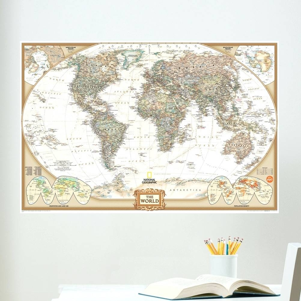 Wall Arts ~ Wooden Wall Art World Map Zoom Wall Art World Map Within 2018 Africa Map Wall Art (View 16 of 20)