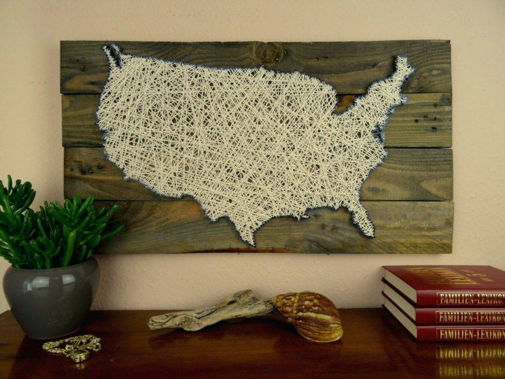 Wall Arts ~ World Map Wall Art Framed World Map Wall Art Canada Us With Most Up To Date Framed Map Wall Art (View 14 of 20)