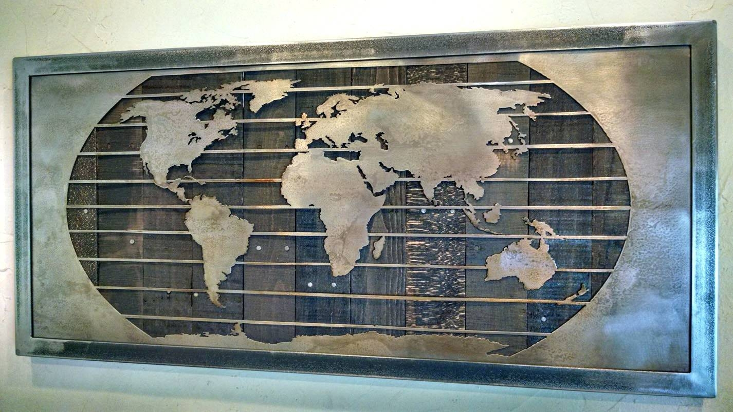 Wall Arts ~ World Map Wall Art Stickers Map Wall Art Uk World Map With Regard To 2017 Map Wall Art Canada (View 5 of 20)