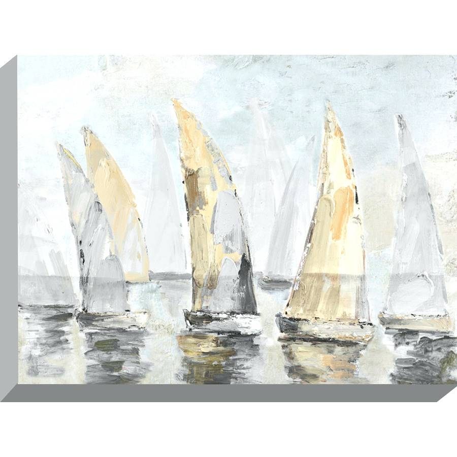 Wall Arts ~ Yacht Metal Wall Art Sailing Boat Metal Wall Art In Most Up To Date Metal Wall Art Boats (View 17 of 20)