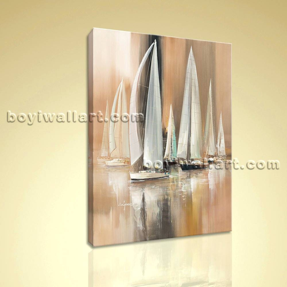 Wall Arts ~ Yacht Metal Wall Art Sailing Boat Metal Wall Art With Regard To Most Current Metal Wall Art Boats (View 18 of 20)