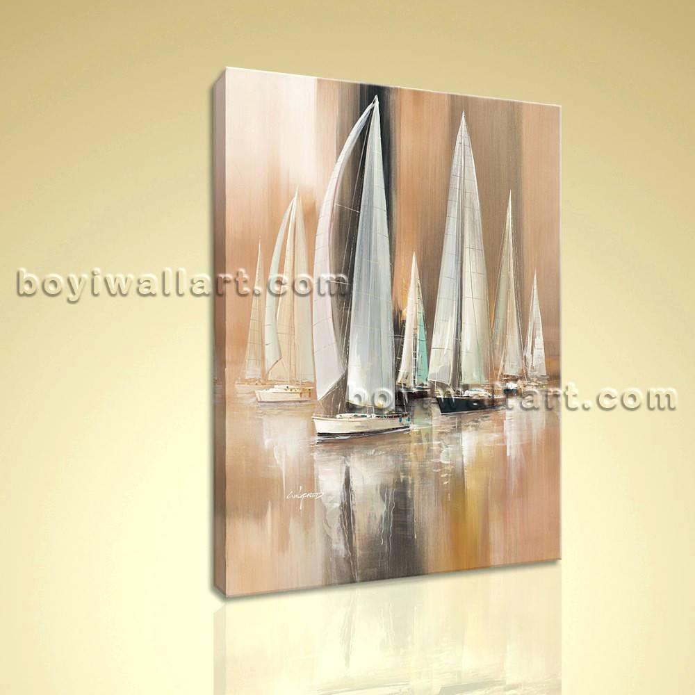 Wall Arts ~ Yacht Metal Wall Art Sailing Boat Metal Wall Art With Regard To Most Current Metal Wall Art Boats (View 19 of 20)
