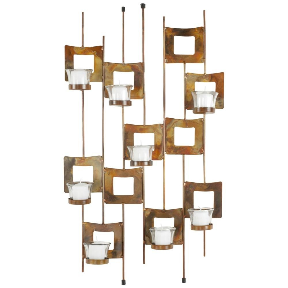 Wall Candle Holder – 10 – In Decors For 2017 Metal Wall Art With Candle Holders (View 17 of 20)