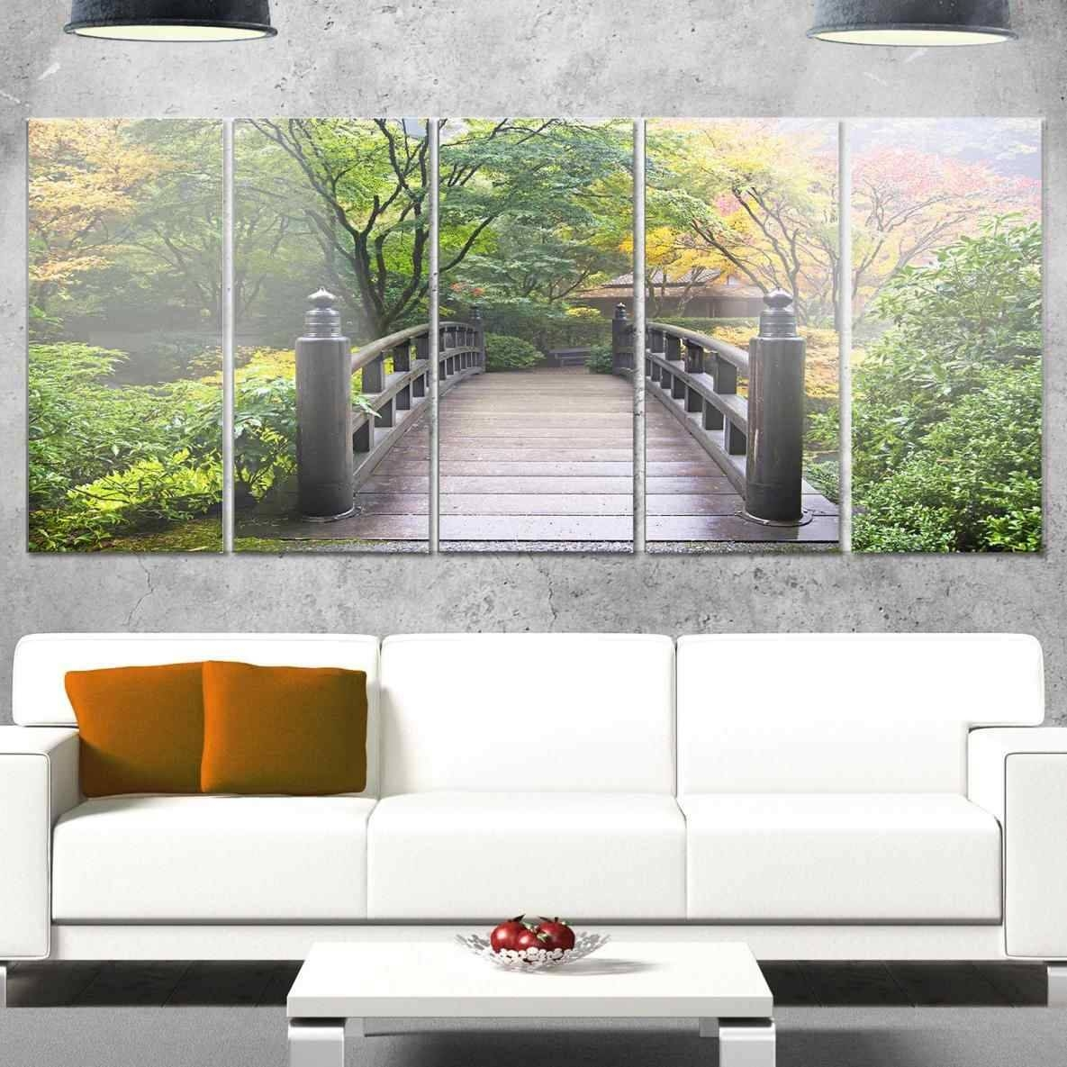 Wall Decor Home Design Blue And Brown Art Ideas Flower Classic In Current Japanese Metal Wall Art (View 19 of 20)