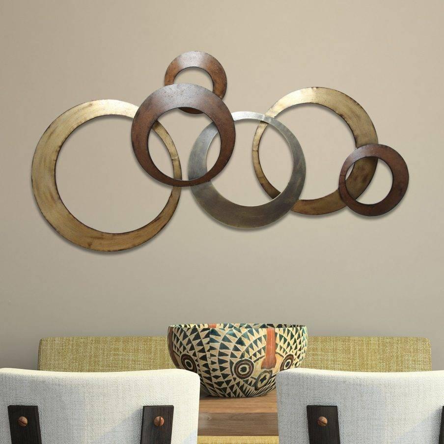 Wall Decor: Metal Circle Wall Decor Images. Wall Design (View 10 of 20)