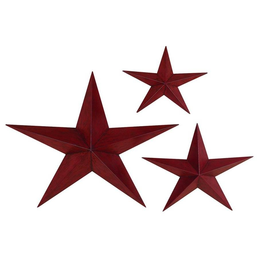 Wall Decor: Metal Star Wall Decor Design. Wall Design (View 14 of 20)