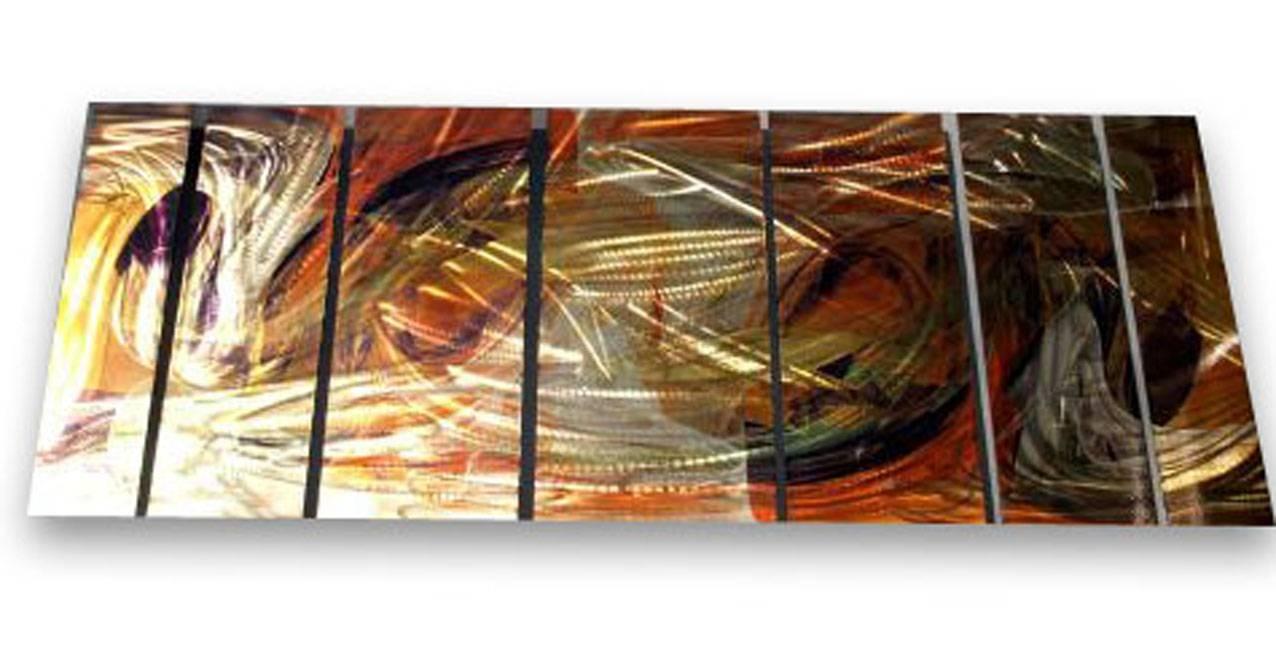 Wall Decor: Metal Wall Art Panels Design (View 11 of 20)
