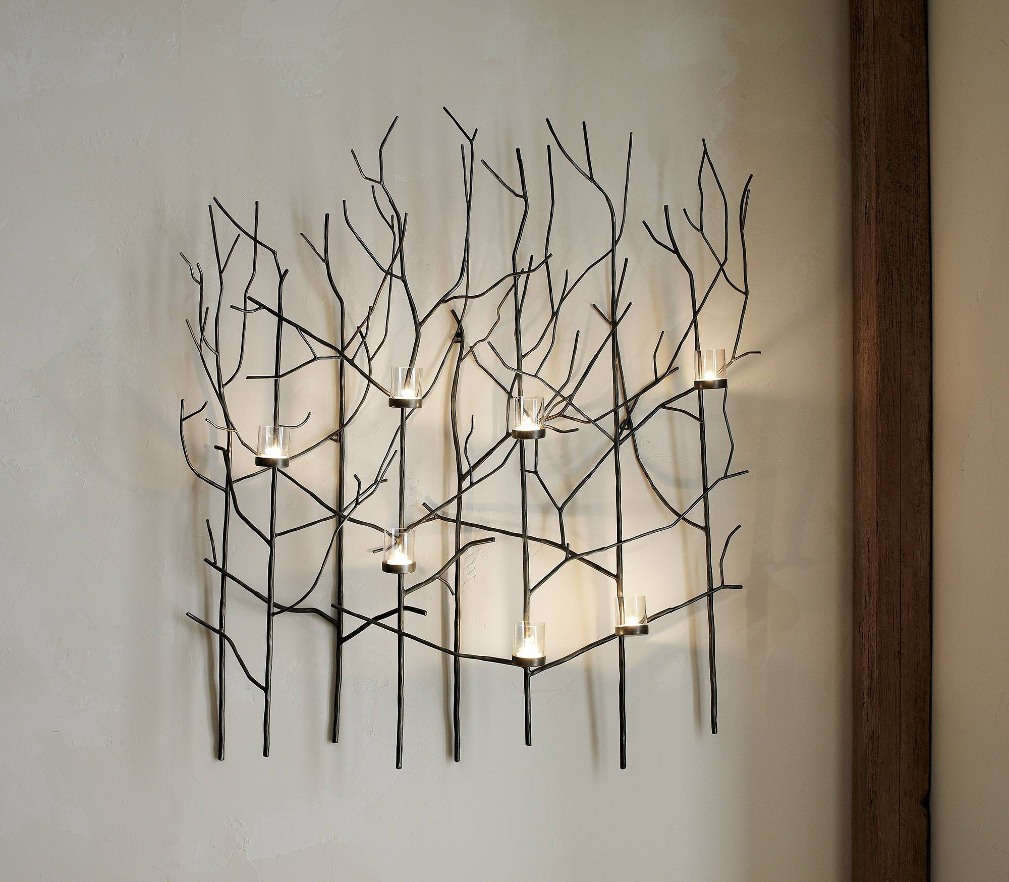 Wall Decor: Metal Wall Candle Holder Images (View 3 of 20)