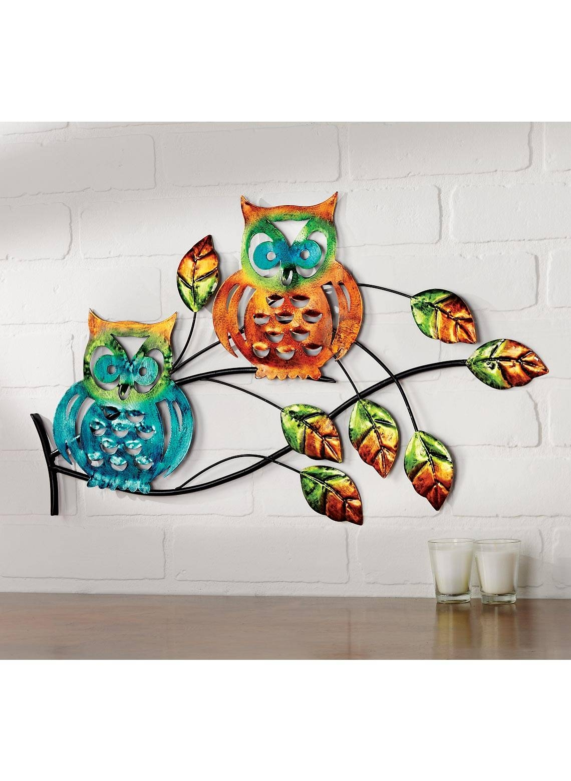 Wall Decor: Owl Wall Art Photo. Outdoor Owl Metal Wall Art (View 8 of 20)
