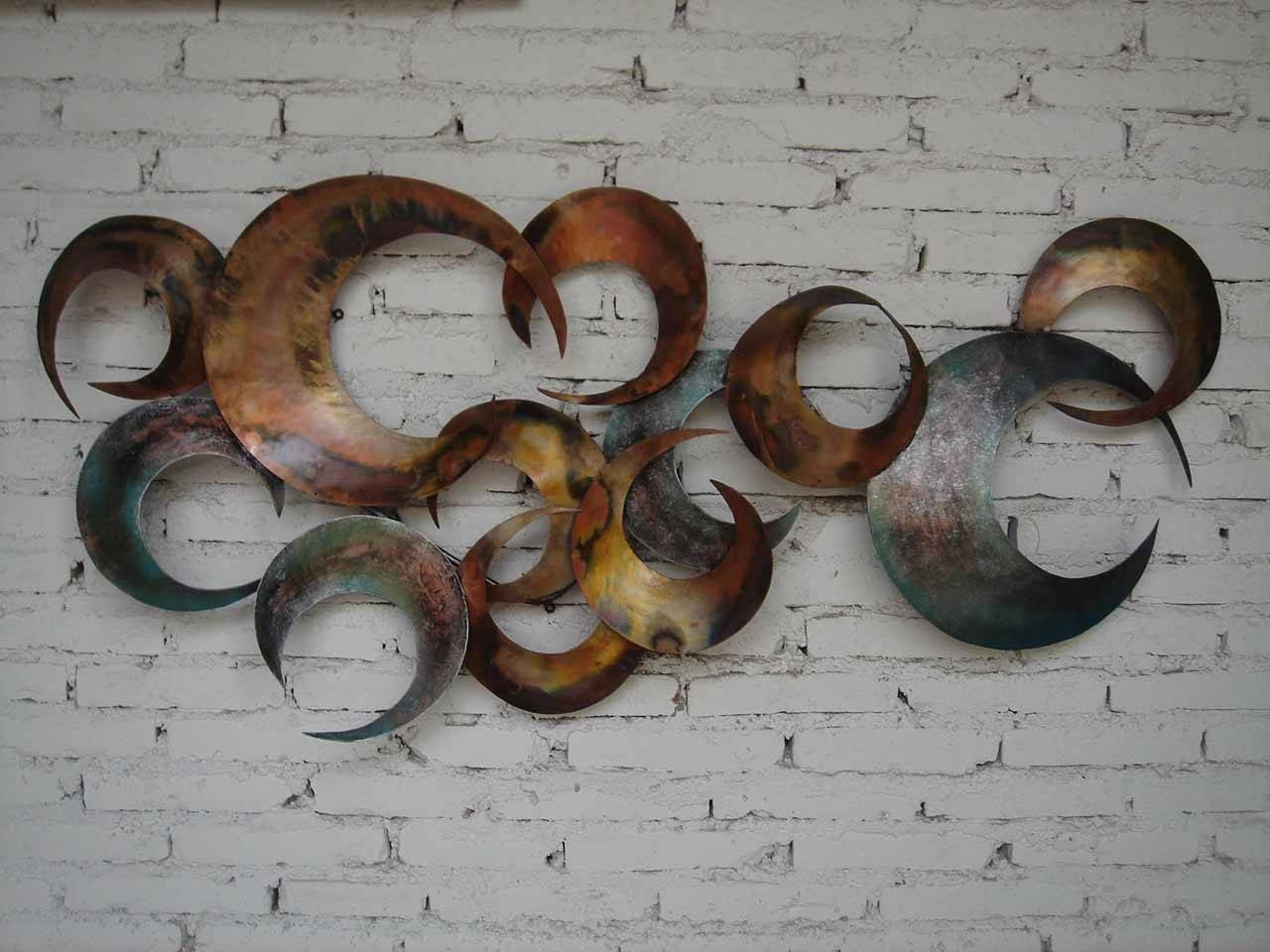 Wall Decor: The Best Metal Wall Art Decor And Sculptures Metal Throughout Latest Unique Metal Wall Art Decors (Gallery 18 of 20)