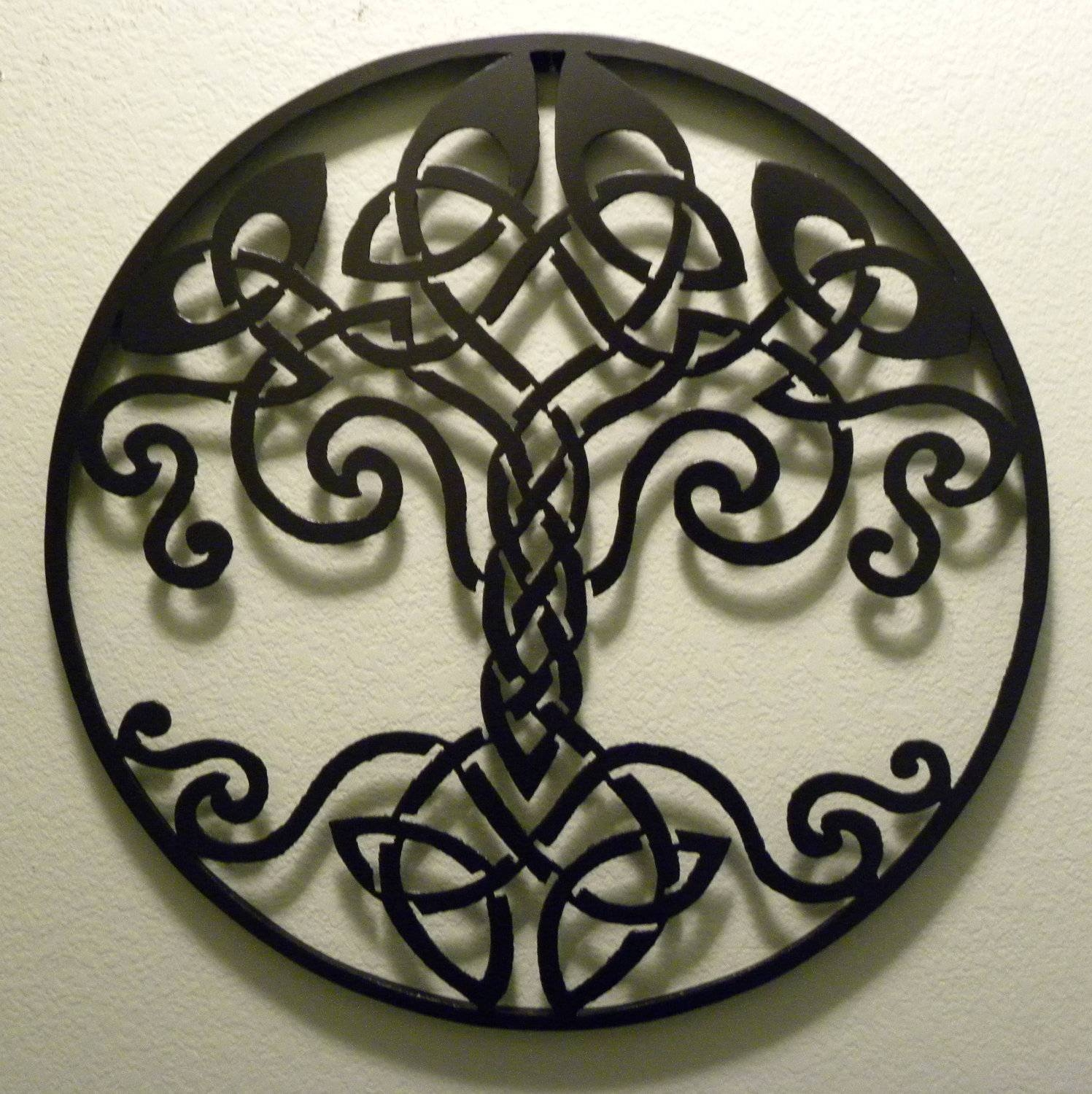 Featured Photo of Celtic Metal Wall Art
