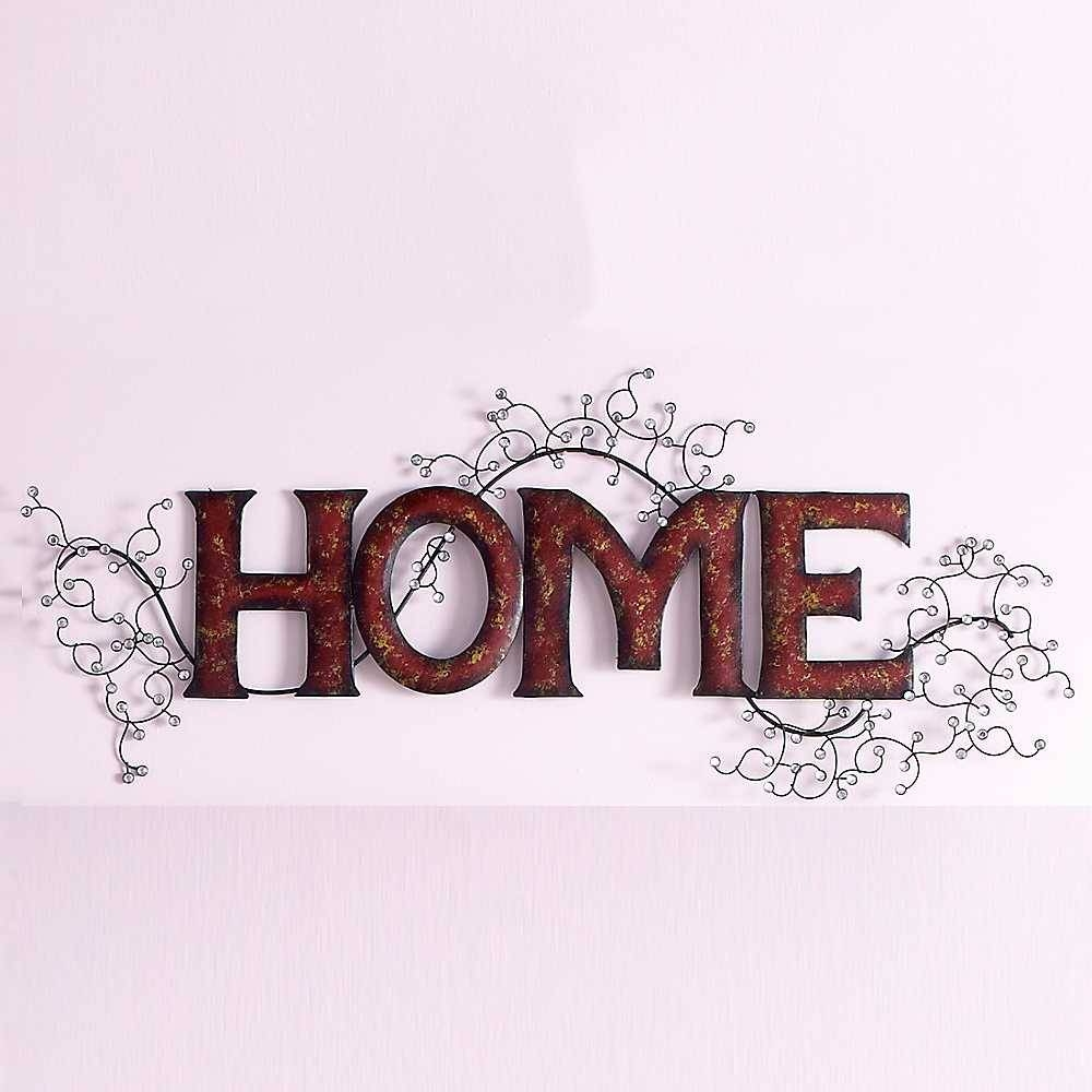 Featured Photo of Home Metal Wall Art