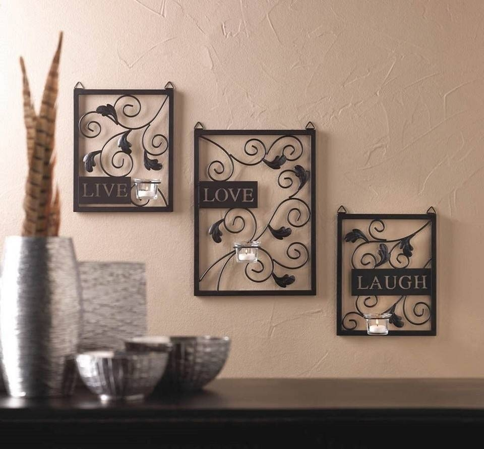 Walmart Wall Art | Roselawnlutheran Pertaining To Most Up To Date Love Metal Wall Art (View 5 of 20)