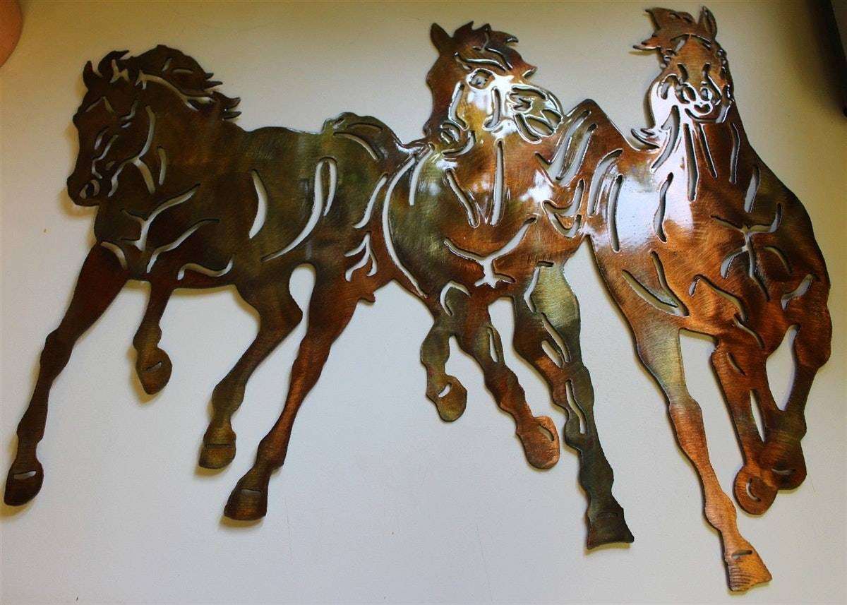 Western Metal Wall Art Ideas Regarding Most Current Western Metal Wall Art (View 17 of 20)