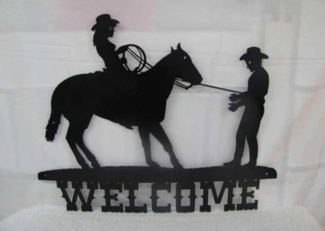 Western Metal Wall Art Silhouettes | Home Design Within 2018 Silhouettes Western Metal Wall Art (View 5 of 20)