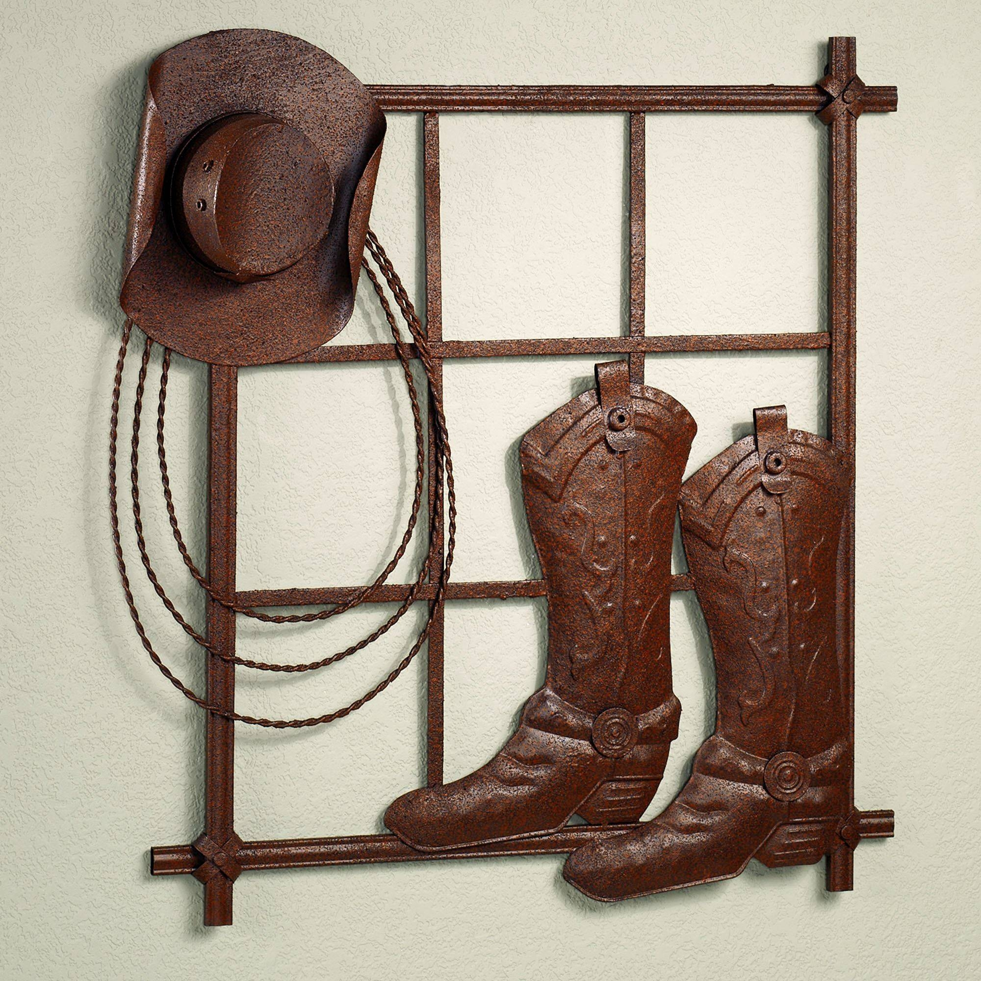 Western Ranch Themed Home Decor | Touch Of Class Within Latest Cowboy Metal Wall Art (View 20 of 20)