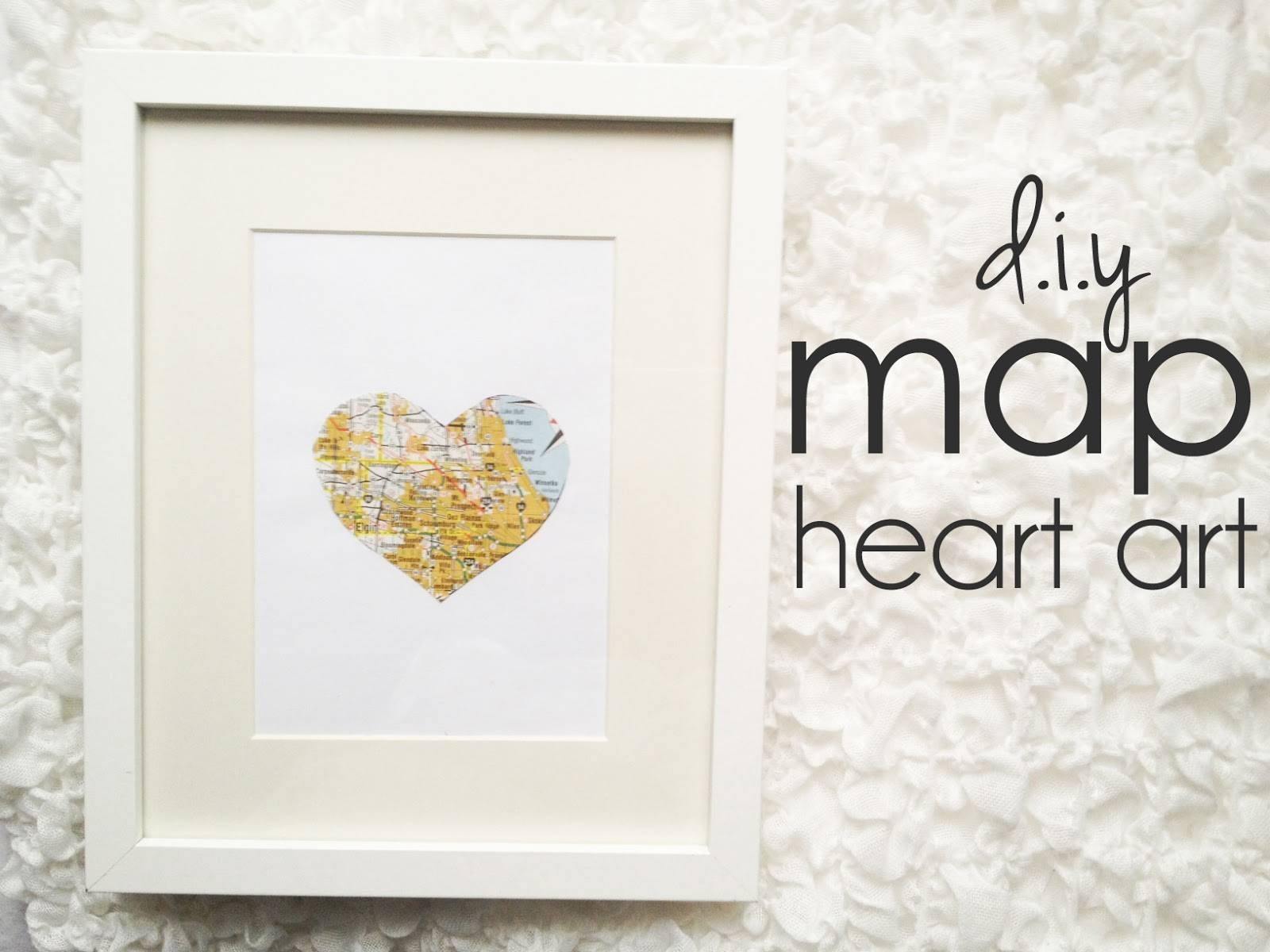 Whisperwood Cottage: 6 Creative Ideas For Framed Wall Art & Photos Intended For Best And Newest Framed Map Wall Art (View 18 of 20)