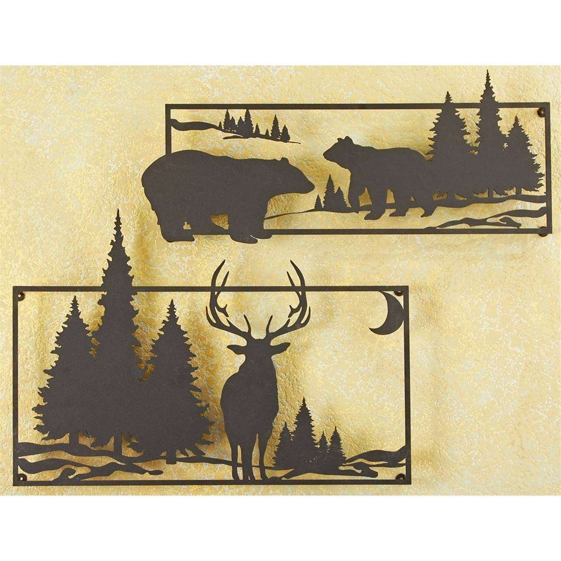 Fantastic Wildlife Metal Wall Art Contemporary - The Wall Art ...