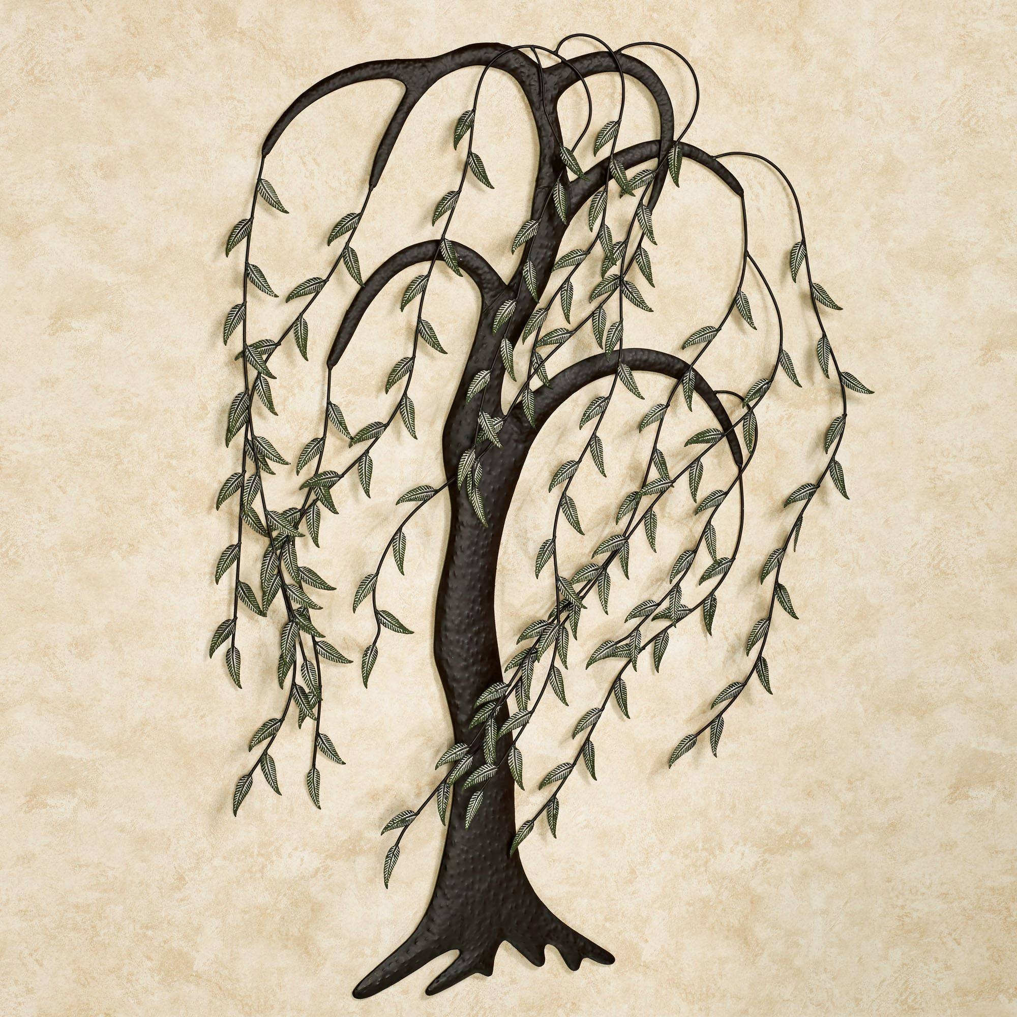 Willow Breeze Tree Metal Wall Art Sculpture For Most Recently Released Trees Metal Wall Art (View 17 of 20)