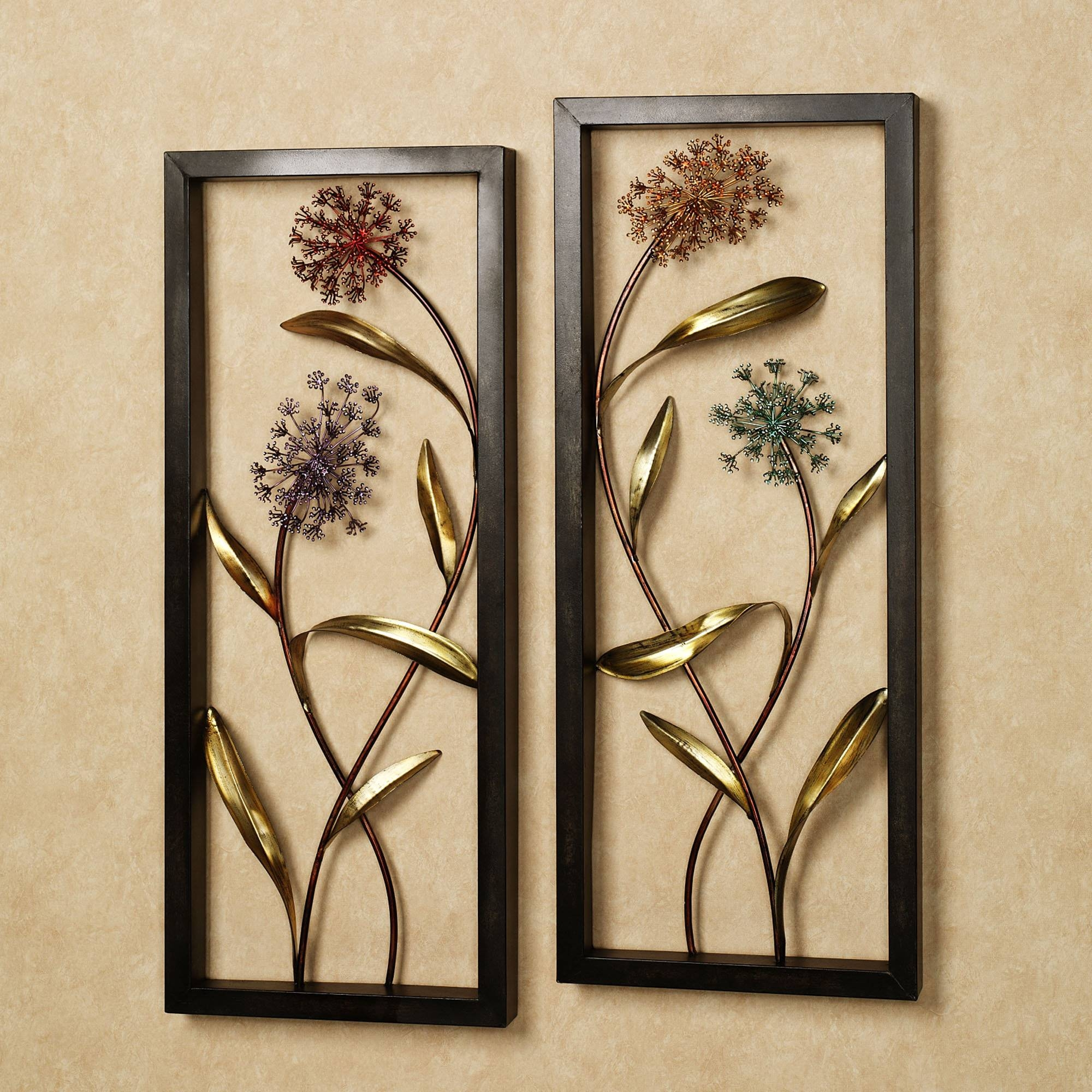 Wonderful Britton Metal Wall Decor Mirror Mirror Wall Art To In Current Decorative Metal Wall Art (View 20 of 20)