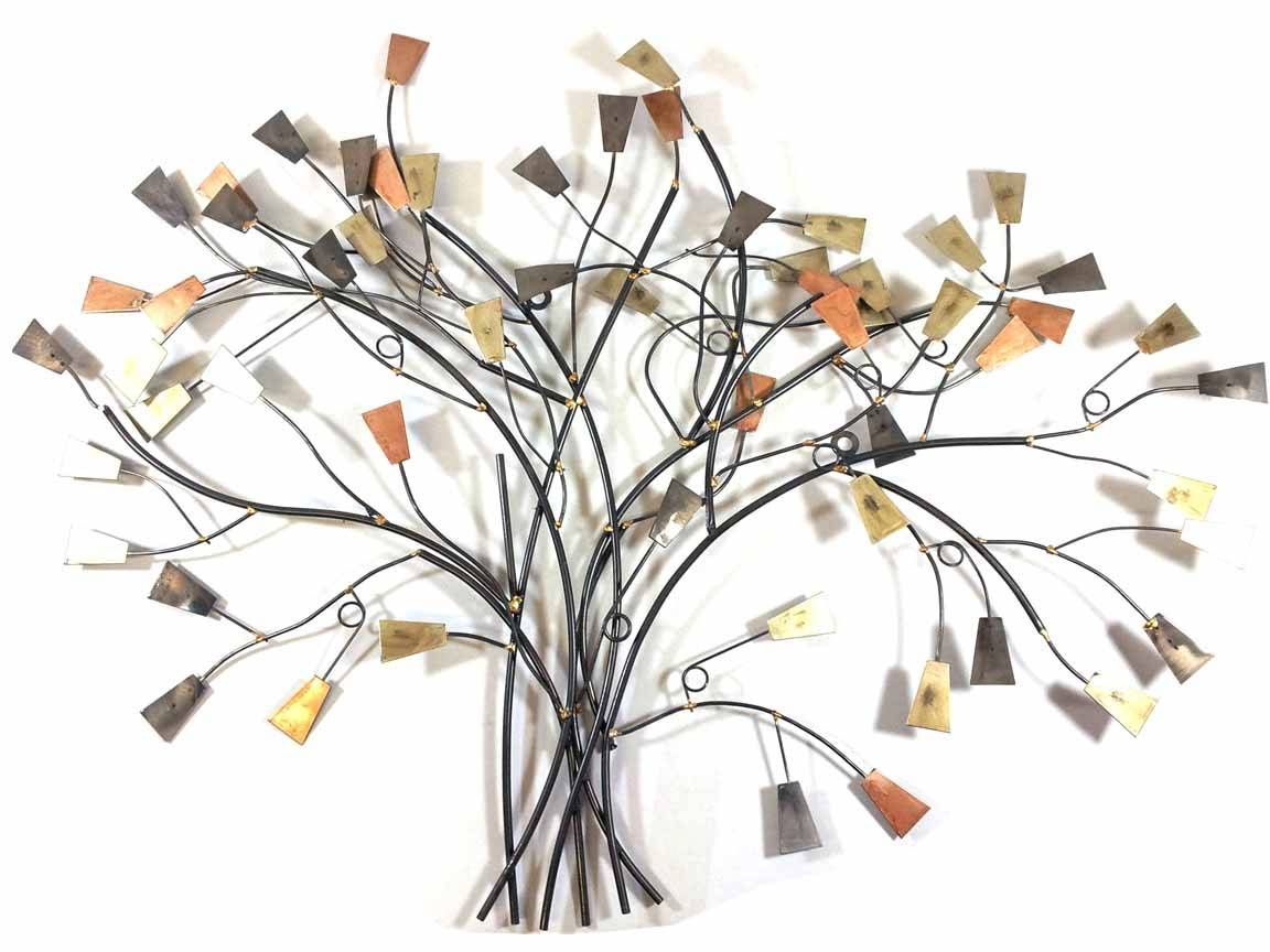 Wonderful Wall Decor Metal Wall Art Cool Metal Wall Art Trees With Recent Metal Wall Art Trees And Leaves (View 20 of 20)