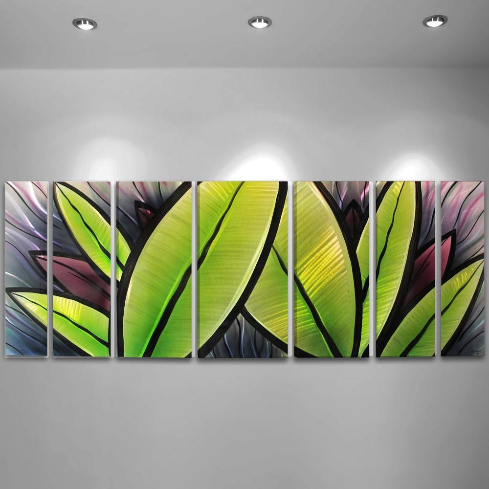 Wondrous Tropical Metal Wall Art Home Tropical Leaf Metal Design Intended For Most Popular Tropical Metal Wall Art (View 7 of 20)
