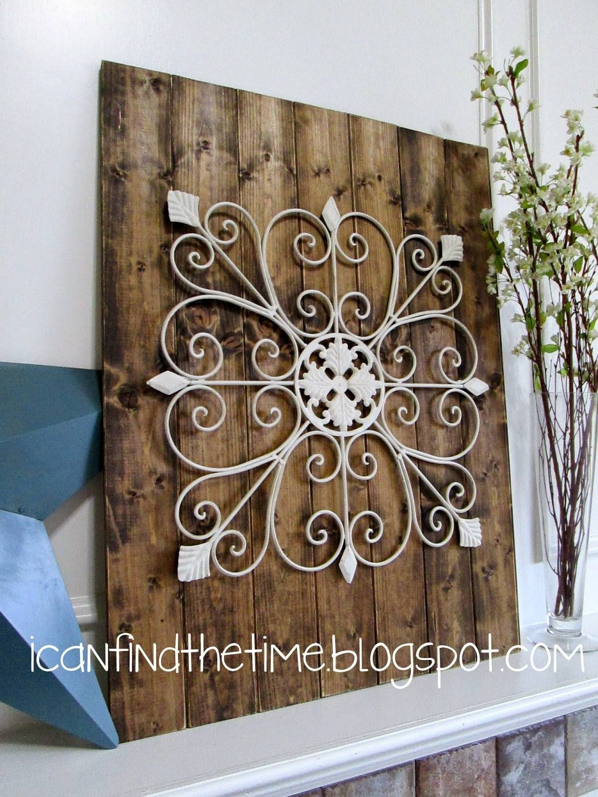 Wood And Metal Wall Art Intended For Most Current Turquoise Metal Wall Art (View 17 of 20)