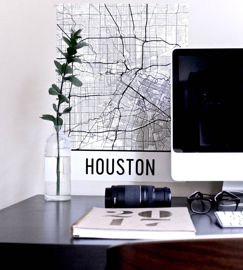 Yo Mariana – Houston Lifestyle Bilingual Blog Inside Most Up To Date Houston Map Wall Art (View 14 of 20)