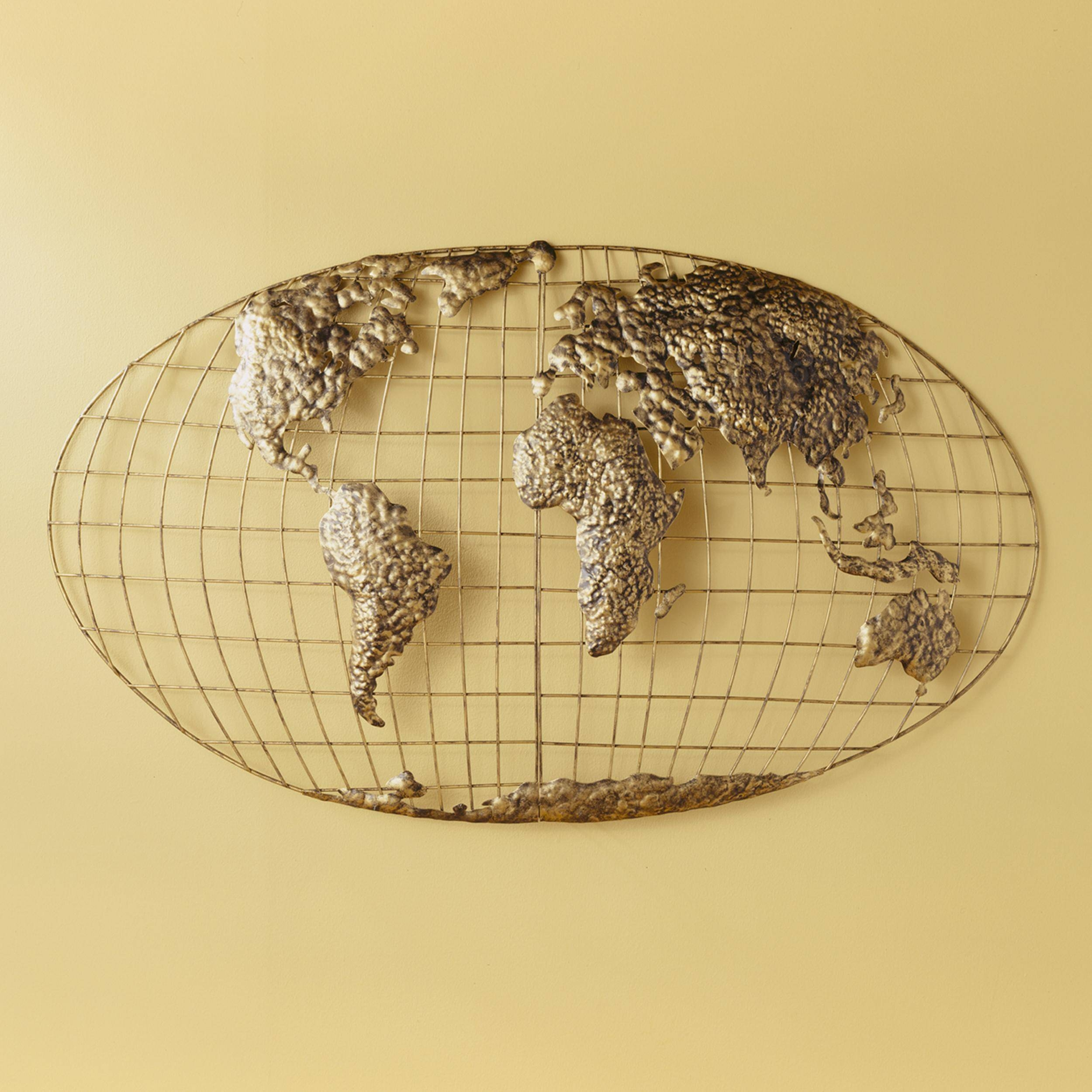 Zspmed Of World Map Wall Art Cool About Remodel Small Home Decor Inside Most Recent Cool Map Wall Art (View 16 of 20)