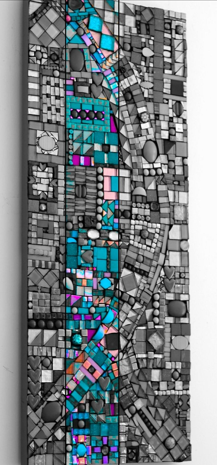 1052 Best Mosaic Abstract Images On Pinterest | Mosaic Art, Mosaic Intended For 2018 Abstract Mosaic Art On Wall (View 1 of 20)