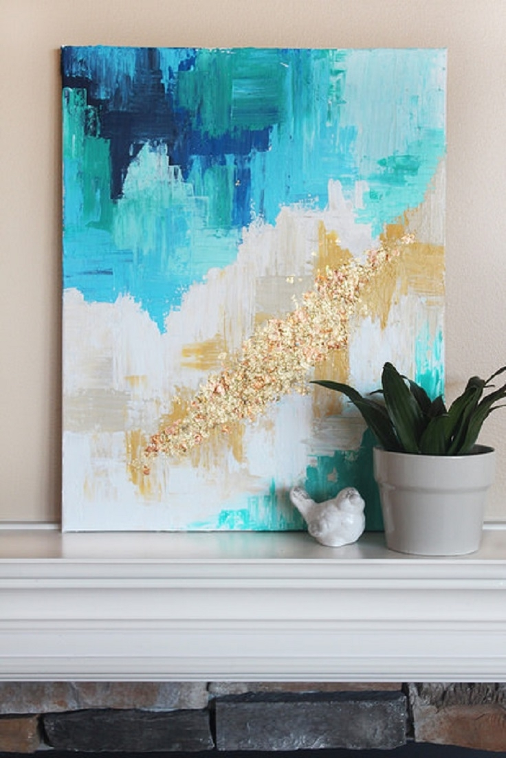 17 Awe Inspiring Diy Wall Art Ideas That Will Elevate Your Home Decor Inside Best And Newest Diy Abstract Wall Art (View 15 of 20)