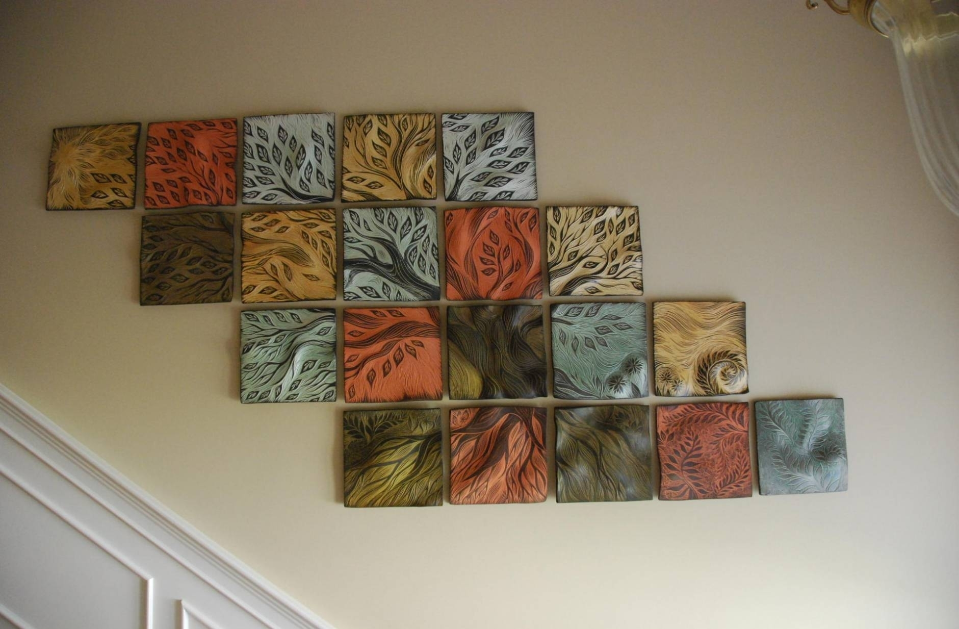 18 Best Collection Of Ceramic Wall Art With Regard To Recent Abstract Ceramic Wall Art (View 1 of 20)