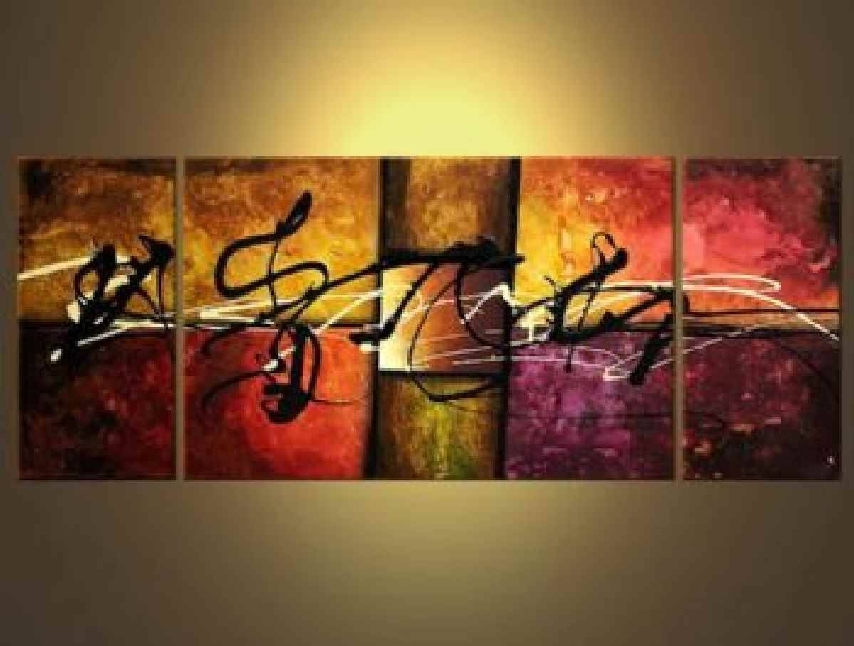 Featured Photo of Abstract Jazz Band Wall Art