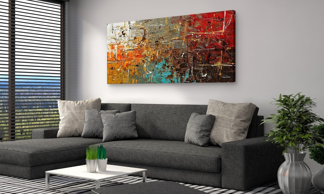 20 Collection Of Living Room Wall Art Inside Current Abstract Living Room Wall Art (Gallery 4 of 20)