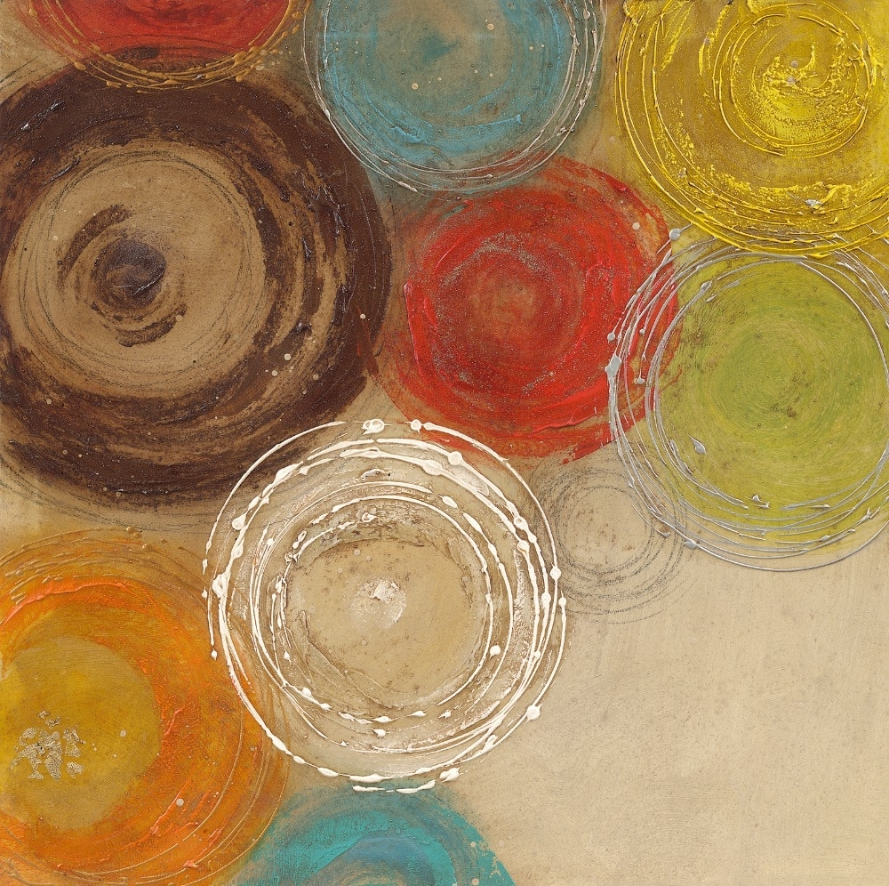 Featured Photo of Abstract Circles Wall Art