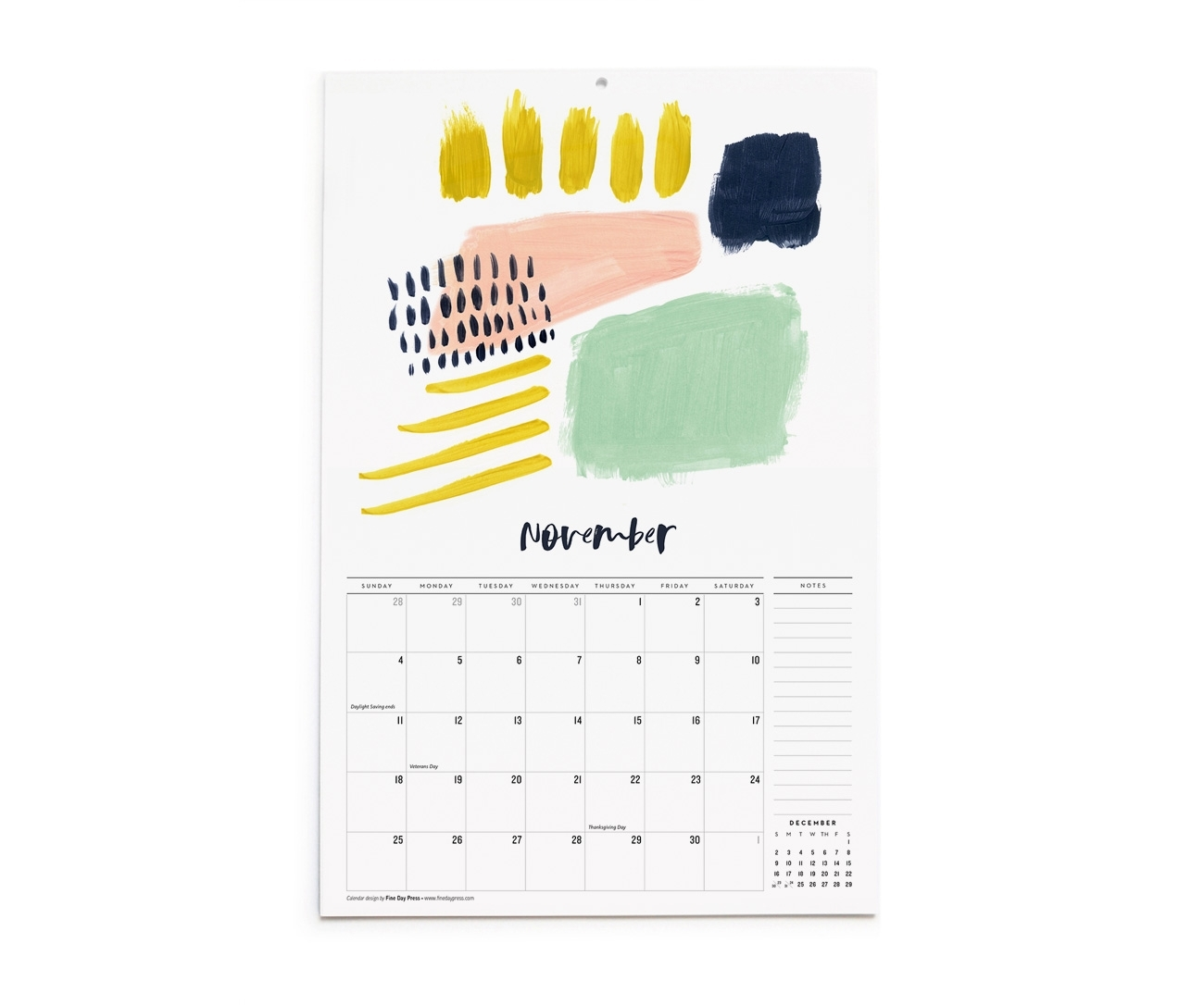 2018 Abstract Art Wall Calendar – Fine Day Press In Best And Newest Abstract Calendar Art Wall (View 9 of 20)